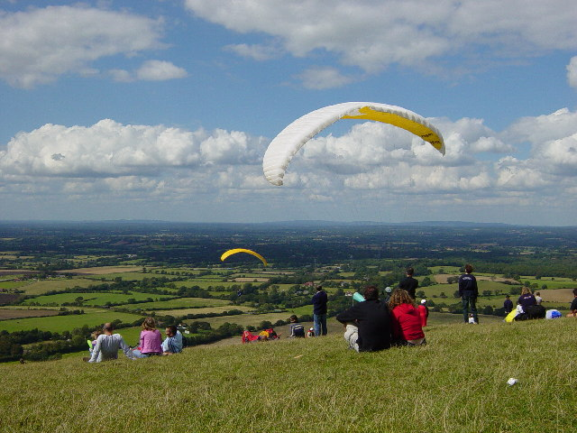 Summer pastimes on the South Downs
