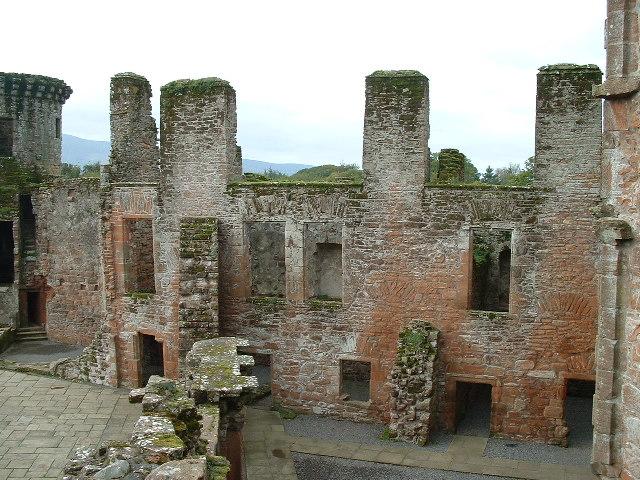 Caerlaverock castle, Dumfriesshire