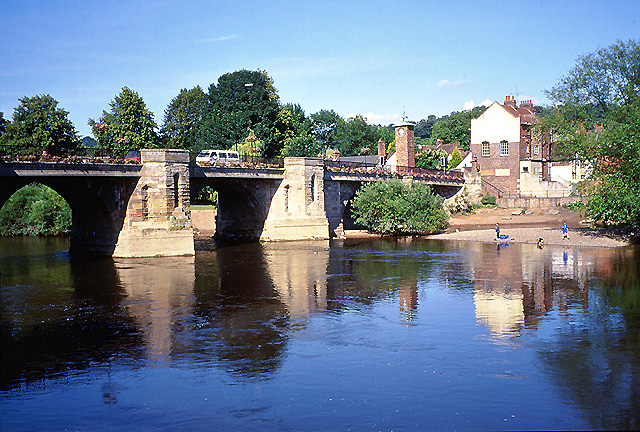 Bridgnorth: Bridge Linking Low Town and High Town