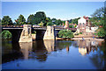 SO7192 : Bridgnorth: Bridge Linking Low Town and High Town by Pam Brophy