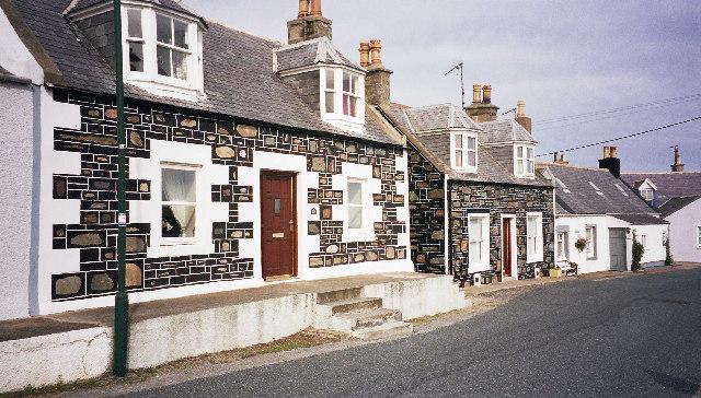 Cottage in Sandend village