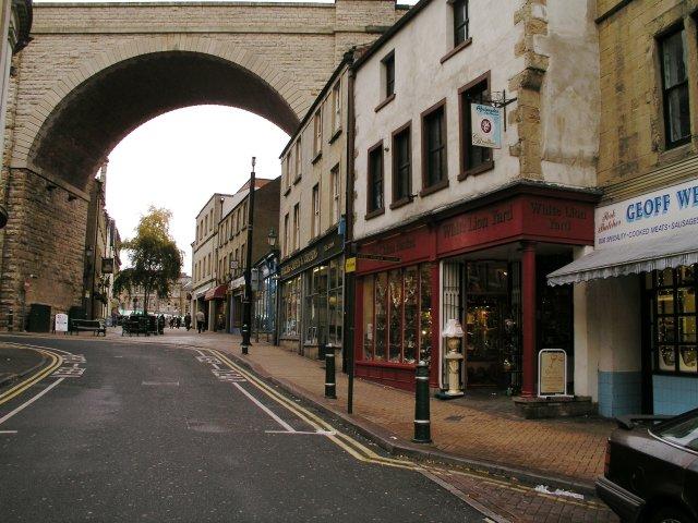 Railway Viaduct, Church Street, Mansfield