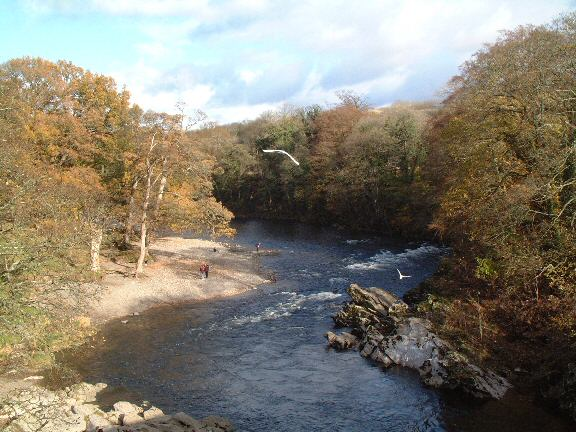 River Lune at Kirkby Lonsdale