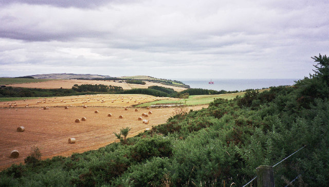 Harvest time on the Black Isle