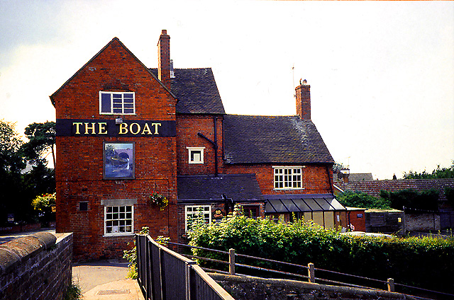 The Boat Pub and Bridge