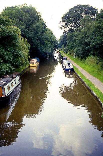 Shropshire Union Canal at Wheaton Aston