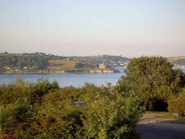 St Mawes Castle from Falmouth