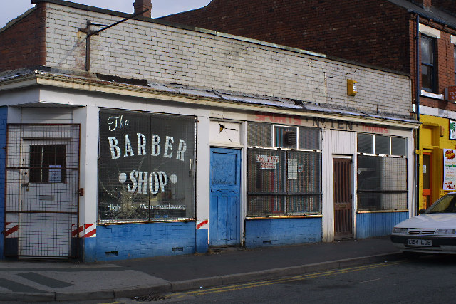 Barber Shop on Wilson Street, Castleford