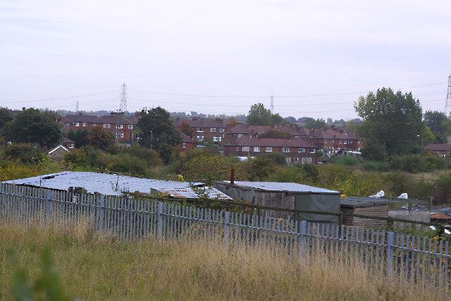 Houses in Cutsyke