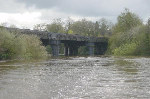 Railway Bridge, River Dee, Chester