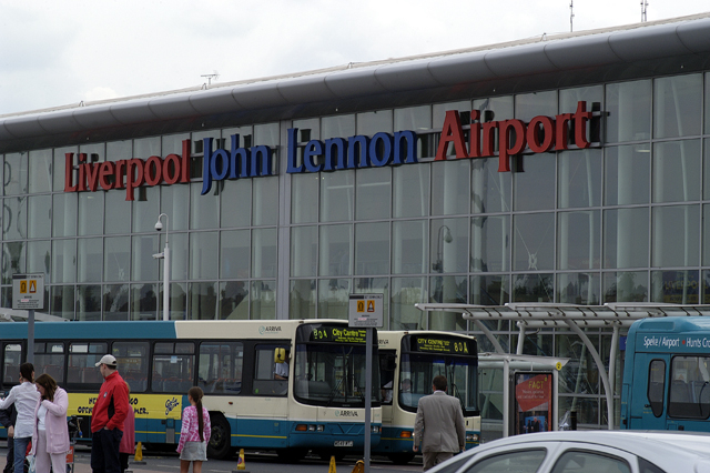 Terminal Building Liverpool Airport