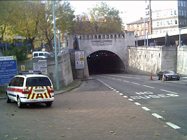 Mersey Tunnel Entrance, Liverpool