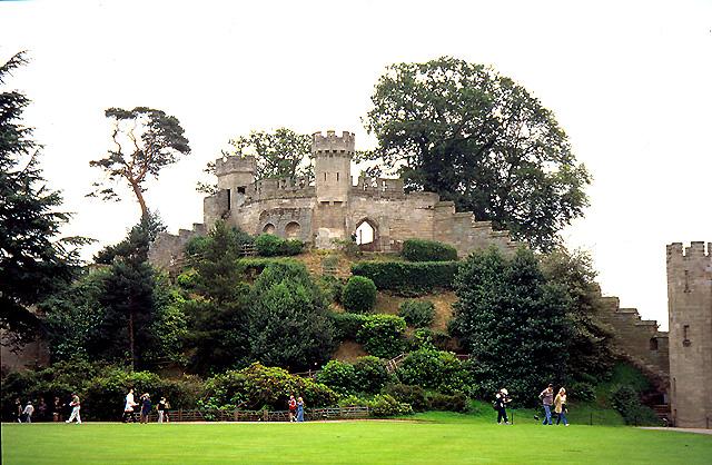 The Mound: Warwick Castle