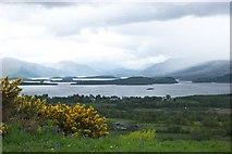 NS4385 : Loch Lomond from Duncryne Hill by paul birrell