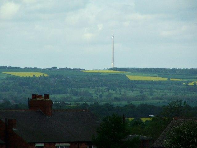 Emley Moor TV tower
