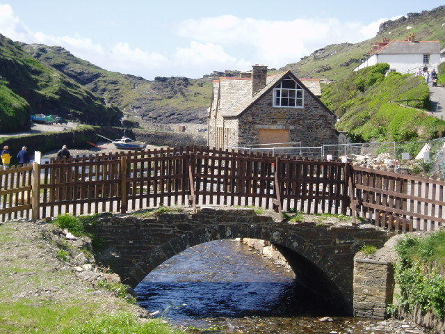 Boscastle Harbour - taken after Boscastle re-opened for business