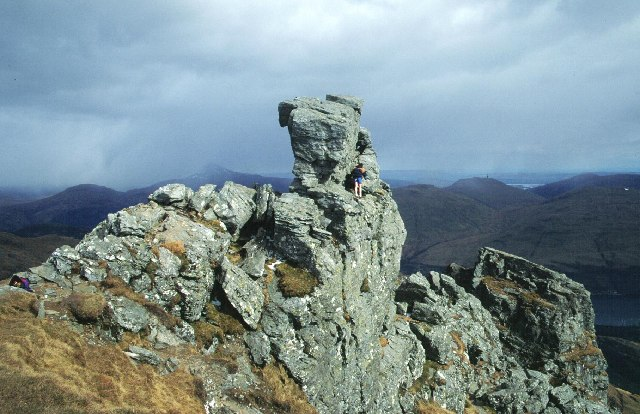 The summit of The Cobbler.