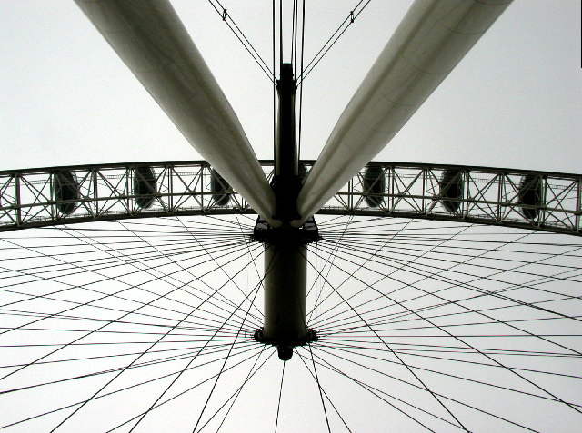 Ground eye view of the Eye