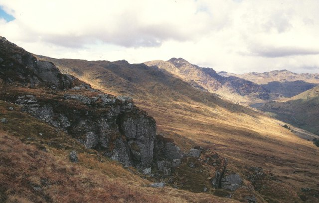 Glen Croe from the Brack.