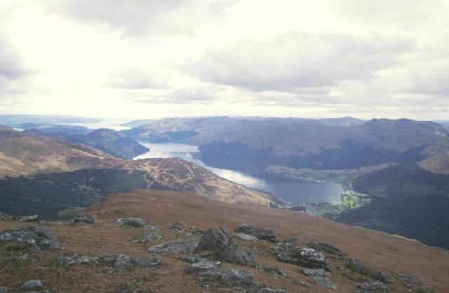 Loch Goil from the summit of Ben Donich.