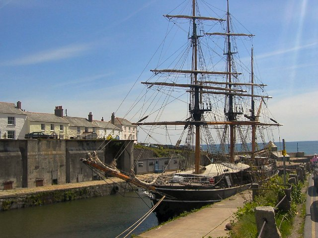 Dock at Charlestown