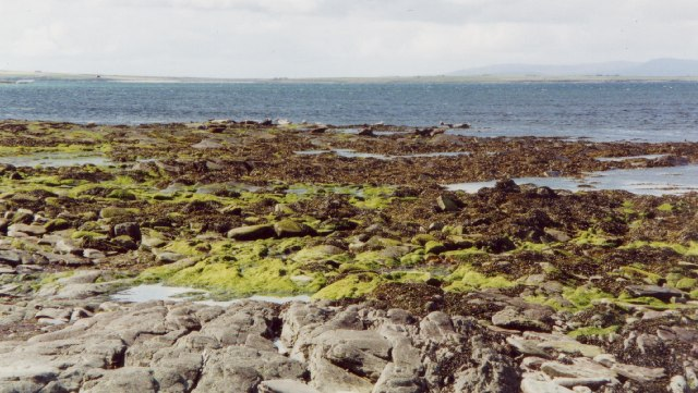 Papa Sound near Backaskail, Papa Westray, Orkney