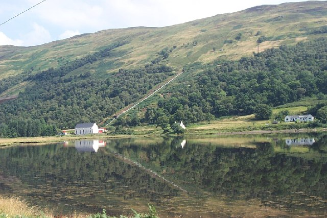 Small HEP station at head of Loch Striven, Cowal