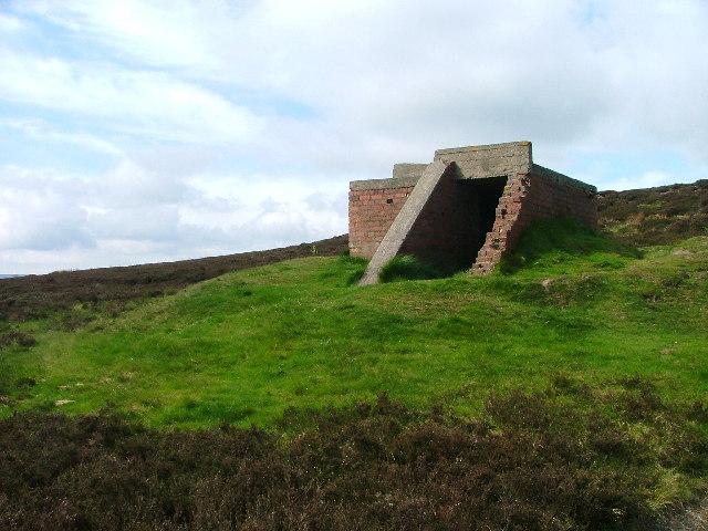 Bomber Decoy Command Bunker