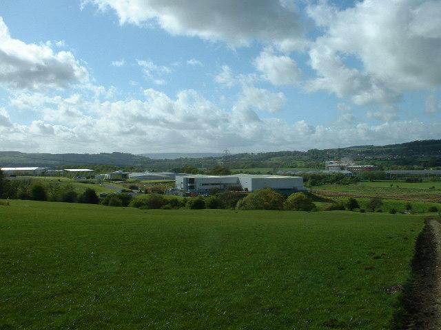 Industrial Estate. Altham, Lancashire