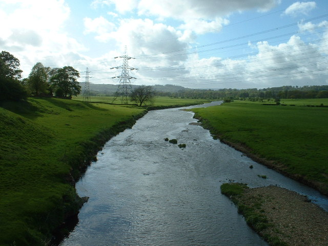 River Calder, near Altham, Lancashire
