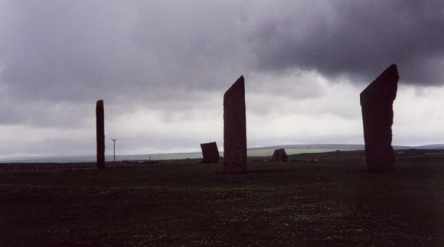 The Standing Stones o' Stenness
