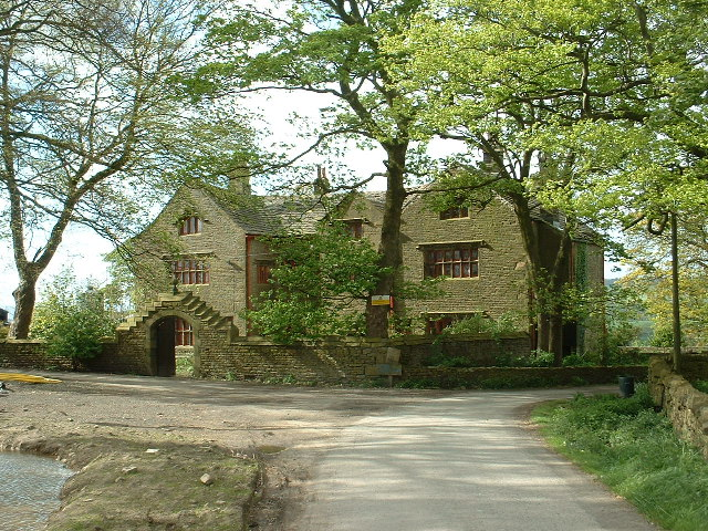 Shuttleworth Hall, near Padiham
