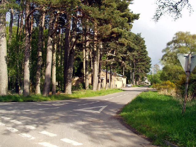 The road to Kemnay