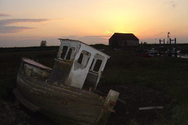 Sunset at Thornham
