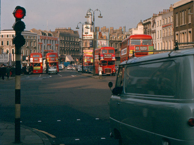 Corner of St Pancras Road - Euston Road