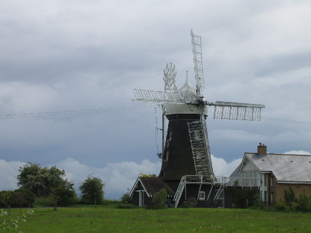 Windmill on Barrowden Road, Morcott