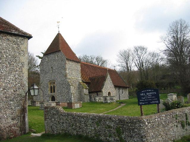All Saints Church, West Dean