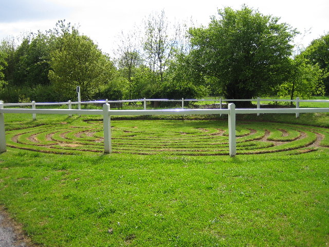 The Turf Maze at Wing, Rutland