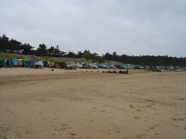 Beach Huts at Wells