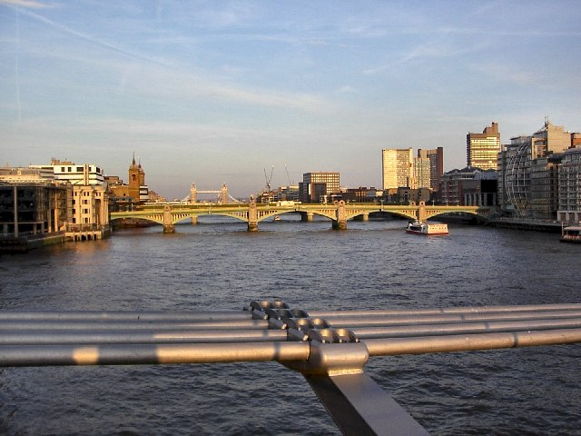 View from Millennium Bridge