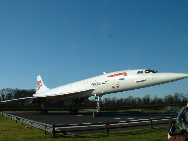 British Airways Concorde, Manchester Aviation Viewing Park