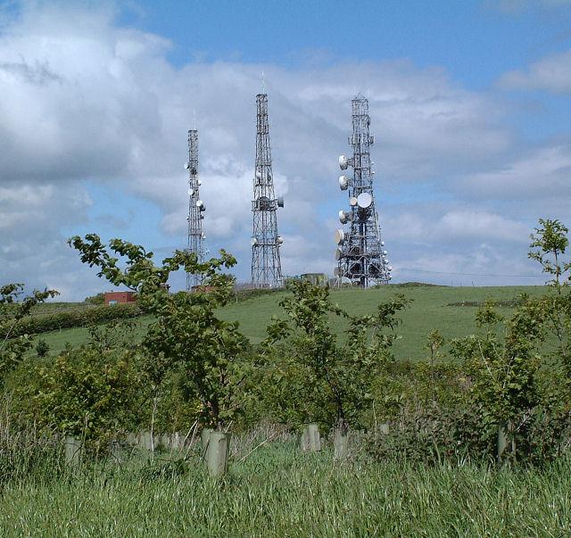 Radio Masts on Pale Heights