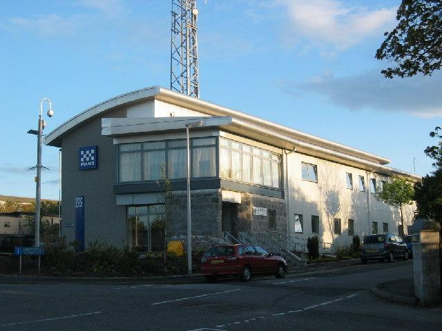 Police station, Nigg, Aberdeen