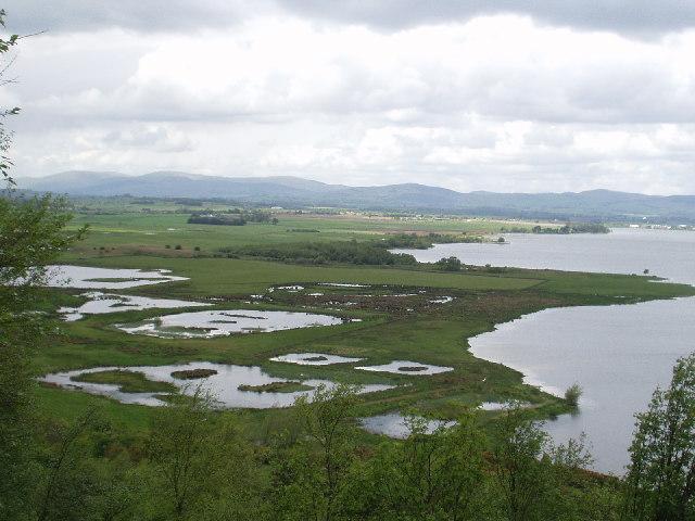 Wet lands near Vane Farm