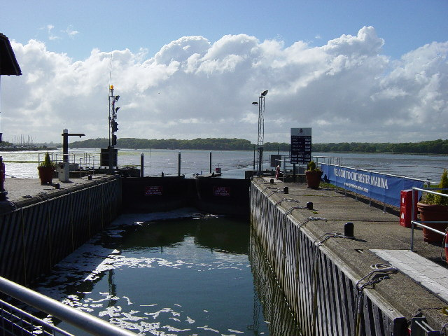 Entrance to Chichester Marina