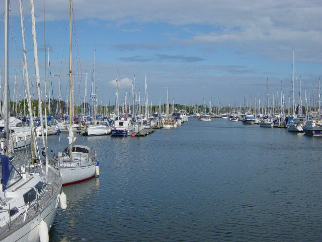 Chichester Marina.