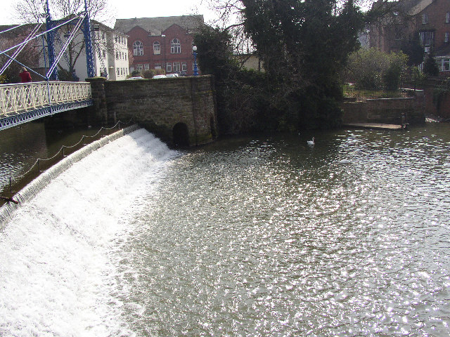 Weir On The Leam