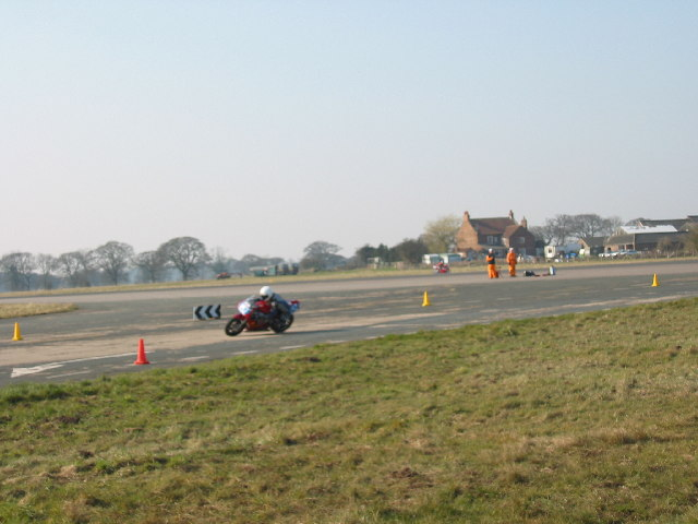 Racing at Elvington Airfield