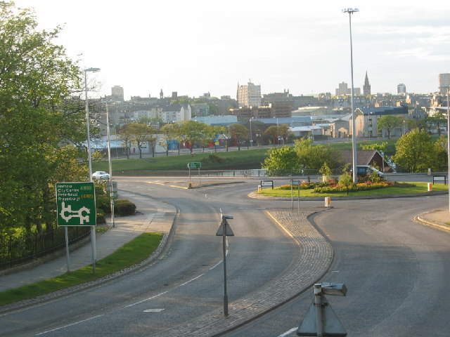 Roundabout by River Dee