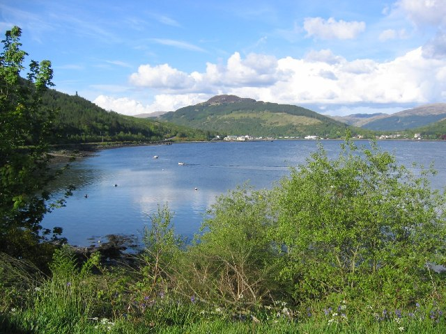 Loch Long from Ardgartan